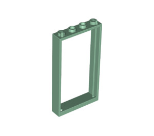 LEGO Sand Green Door Frame 1 x 4 x 6 Single Sided (40289)