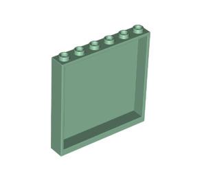 LEGO Sand Green Panel 1 x 6 x 5 (59349)