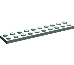 LEGO Sand Green Plate 2 x 10 (3832)