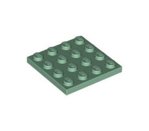 LEGO Sand Green Plate 4 x 4 (3031)