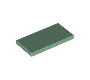 LEGO Sand Green Tile 2 x 4 (87079)