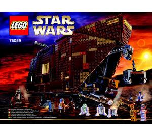 LEGO Sandcrawler Set 75059 Instructions