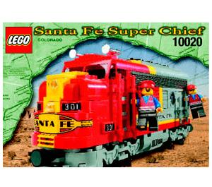 LEGO Santa Fe Super Chief Set 10020-1 Instructions