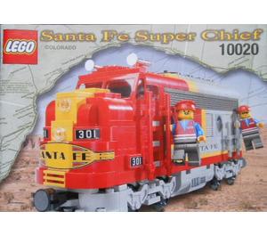 LEGO Santa Fe Super Chief Set Limited Edition 10020-2 Instructions