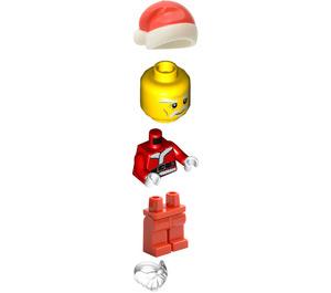 LEGO Santa Minifigure