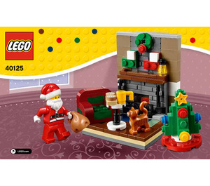 LEGO Santa's Visit Set 40125 Instructions