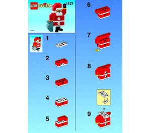 LEGO Santa Set 1127 Instructions