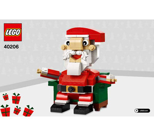 LEGO Santa Set 40206 Instructions