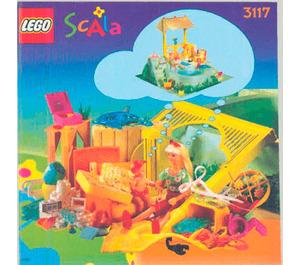 LEGO SCALA Flashy Pool Set 3117 Instructions