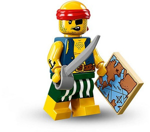 LEGO Scallywag Pirate Set 71013-9