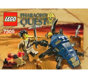 LEGO Scarab Attack Set 7305 Instructions