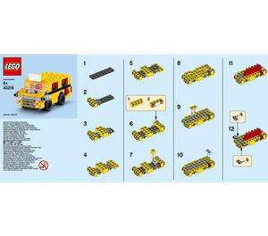 LEGO School Bus Set 40216 Instructions