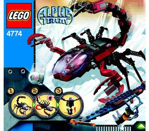 LEGO Scorpion Orb Launcher Set 4774 Instructions