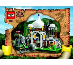 LEGO Scorpion Palace Set 7418-1 Instructions