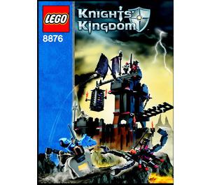 LEGO Scorpion Prison Cave Set 8876 Instructions