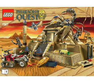 LEGO Scorpion Pyramid Set 7327 Instructions
