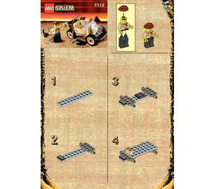 LEGO Scorpion Tracker Set 5918 Instructions