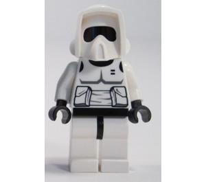 LEGO Scout Trooper (Black Head) Minifigure