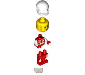 LEGO Scuderia Ferrari SF16-H Driver Minifigure
