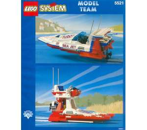 LEGO Sea Jet Set 5521
