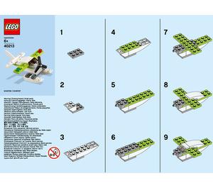 LEGO Seaplane Set 40213 Instructions