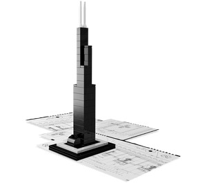 LEGO Sears Tower Set 21000-1