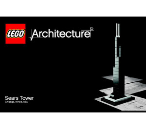 LEGO Sears Tower Set 21000-1 Instructions