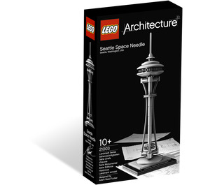 LEGO Seattle Space Needle Set 21003 Packaging