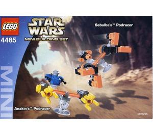 LEGO Sebulba's Podracer & Anakin's Podracer Set 4485