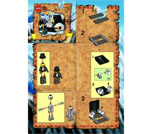 LEGO Secret of the Tomb Set 7409 Instructions