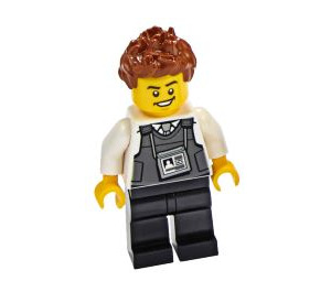 LEGO Security Officer Minifigure