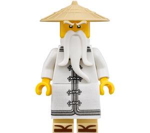LEGO Sensei Wu with long Robe Minifigure