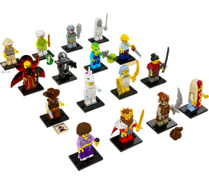 LEGO Series 13 Minifigure - Random Bag Set 71008-0