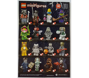 LEGO Series 14 Minifigure - Random Bag Set 71010-0 Instructions