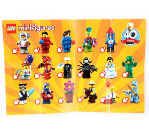 LEGO Series 18 Instructions