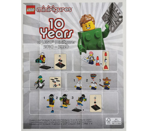 LEGO Series 20 Minifigure - Random Bag Set 71027-0 Instructions