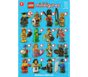 LEGO Series 5 Minifigure - Random Bag Set 8805-0 Instructions