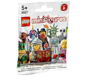 LEGO Series 6 Minifigure - Random Bag Set 8827-0 Packaging