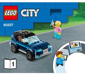 LEGO Service Station Set 60257 Instructions