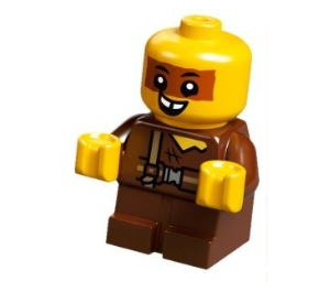 LEGO Sewer Baby with Stripe Over Eyes Minifigure