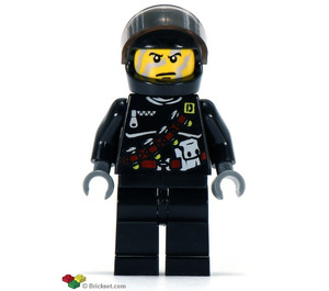 LEGO Shadow Agent Minifigure