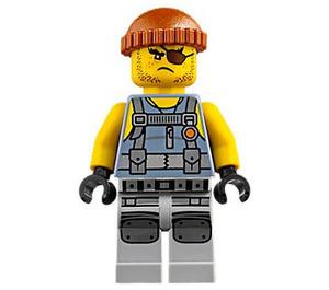 LEGO Shark Army Thug Minifigure