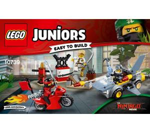 LEGO Shark Attack Set 10739 Instructions