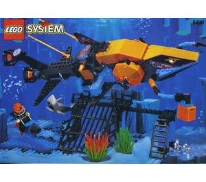LEGO Shark's Crystal Cave Set 6190