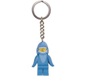 LEGO Shark Suit Guy Key Chain (853666)