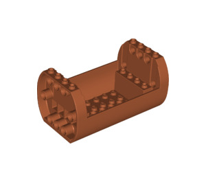 LEGO Shell 6 x 10 x 4 1/3 Outside Bow (49949)