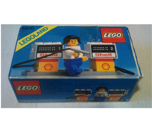 LEGO Shell Gas Pumps 6610 Packaging