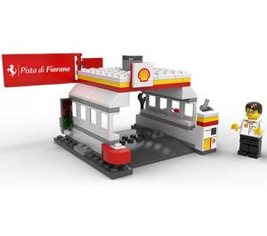 LEGO Shell Station Set 40195