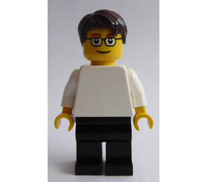 LEGO Shell Station Worker Minifigure