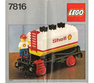 LEGO Shell Tanker Wagon Set 7816
